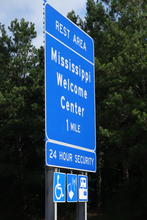 Entering Mississippi.