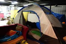 Indoors tent