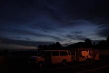 Dawn in Van Buren.