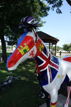 Seven flags horse.