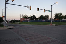 Just an intersection in OKC.