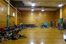 Interior, gym
