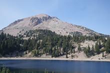 Lake Helen, with Lassen peak in the background